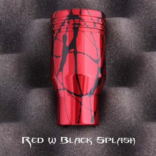 RED/BLACK PISTON ALUMINUM SHIFT KNOB