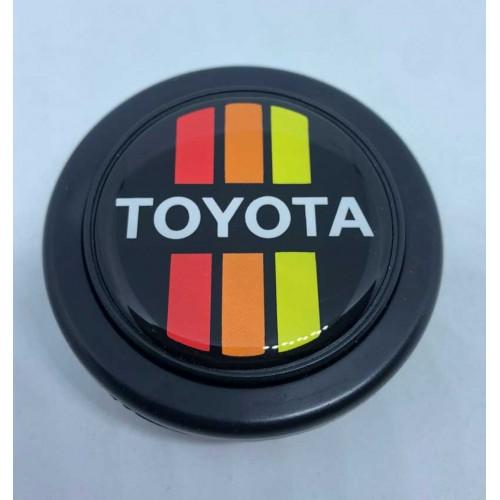 Toyota Tri-Color Horn Button